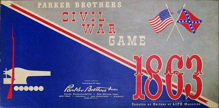 Civil War Game 1863