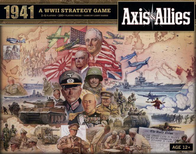 Axis & Allies 1941 Cover