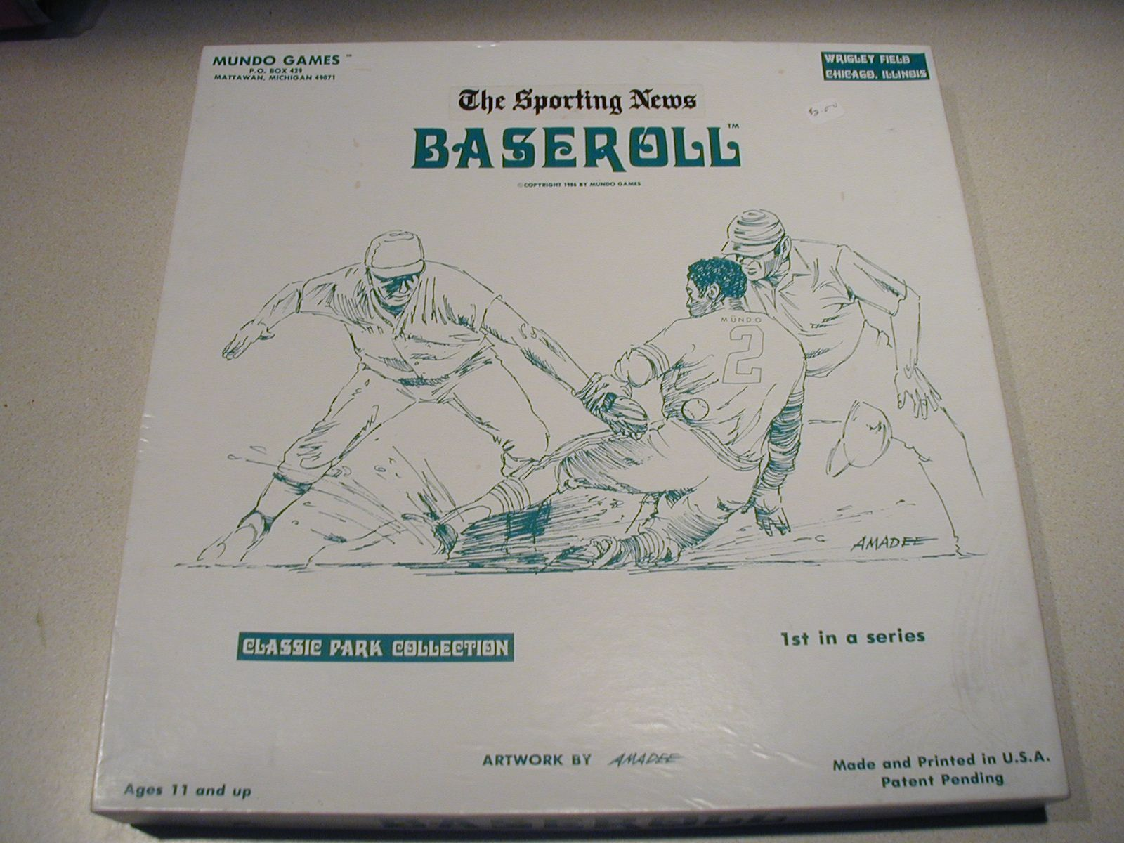 The Sporting News: Baseroll