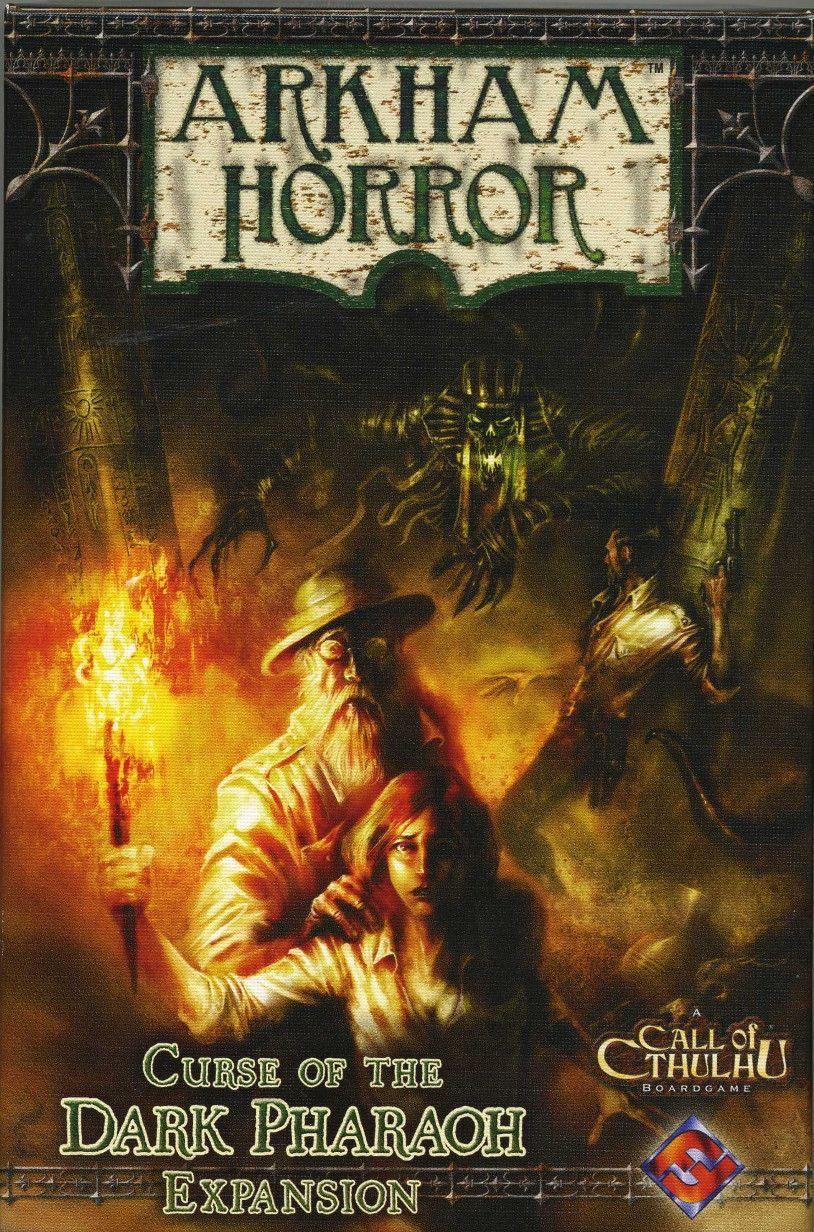 Arkham Horror: Curse of the Dark Pharaoh Expansion