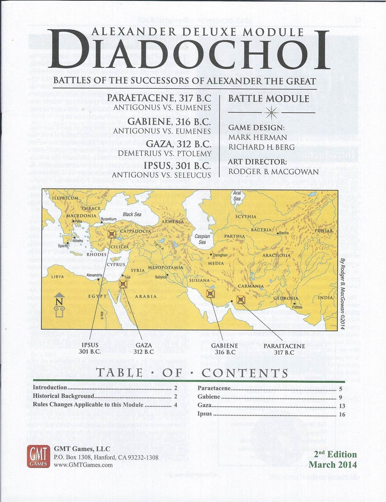 Diadochoi: Great Battles of Alexander Module
