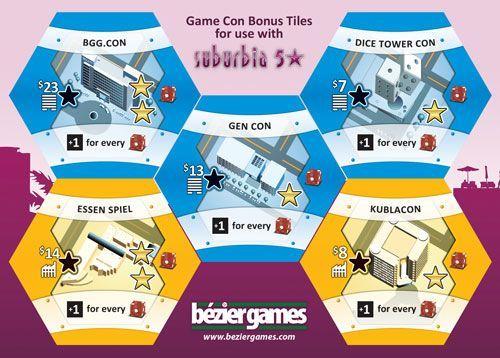 Board Game: Suburbia: Con Tiles
