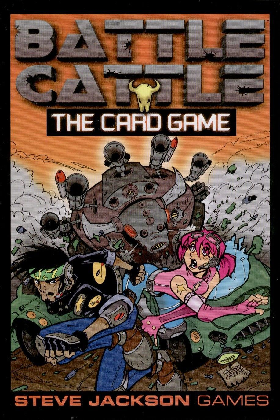 Battle Cattle: The Card Game