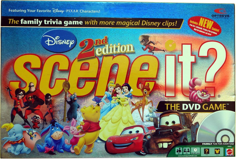 Scene It? Disney Second Edition