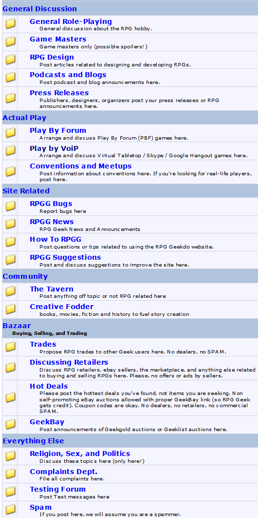 New Forum Layouts, Play by VoiP, Community Module and More! | RPG