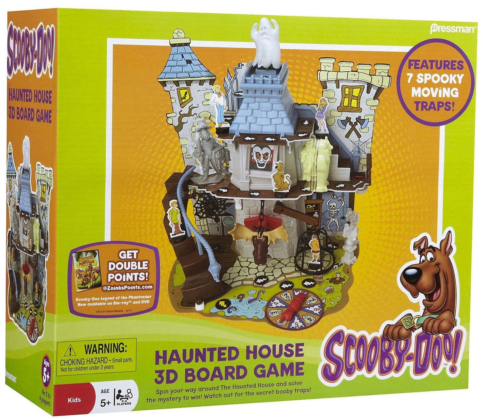 Scooby-doo! Haunted House 3D Board Game