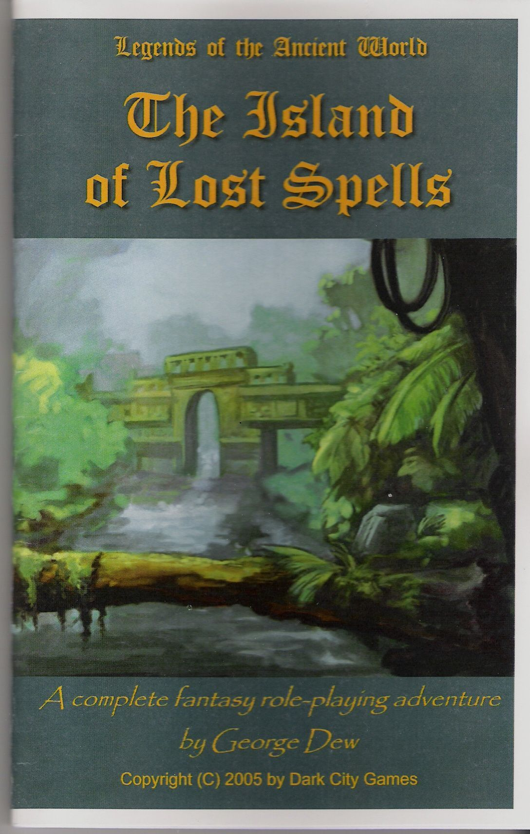 Legends of the Ancient World: The Island of Lost Spells