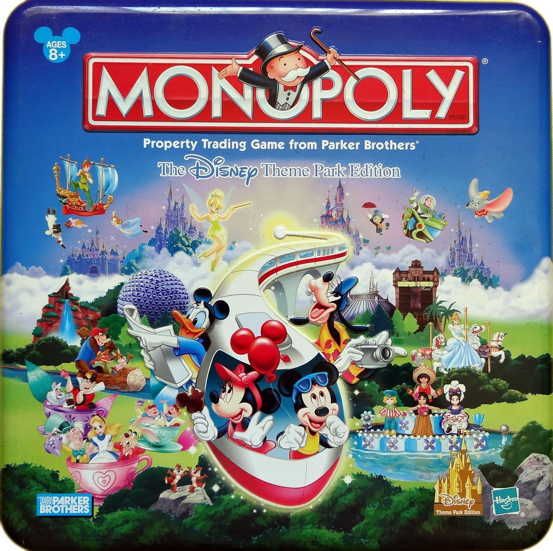 Monopoly: Disney Theme Park