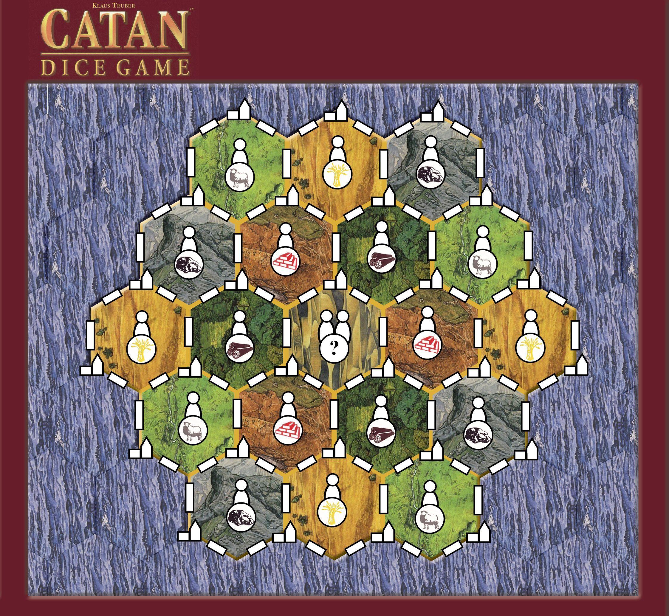 Catan Dice Game XXL Variant