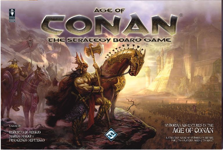 Main image for Age of Conan: The Strategy Board Game board game