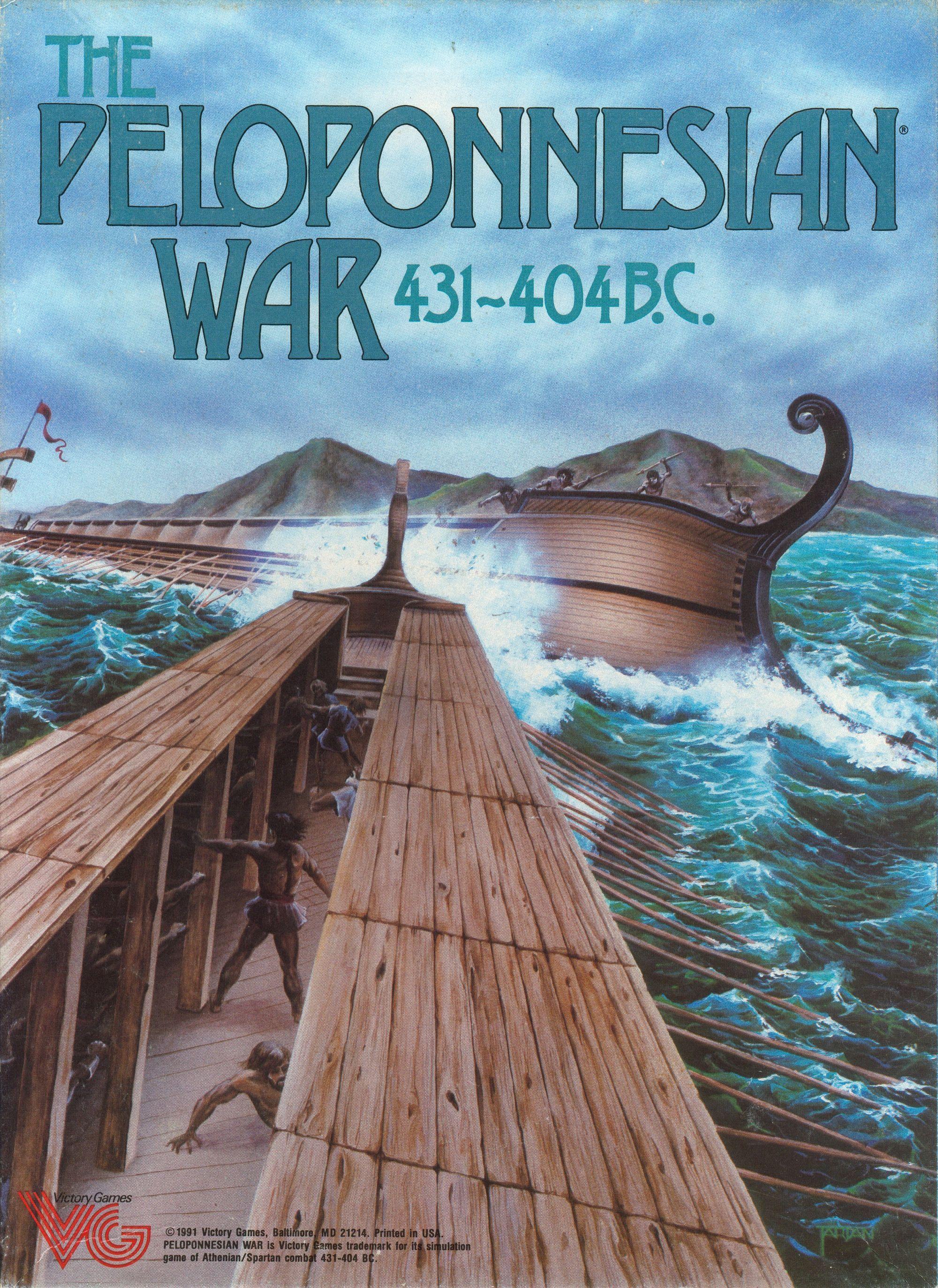 The Peloponnesian War, 431-404 BC