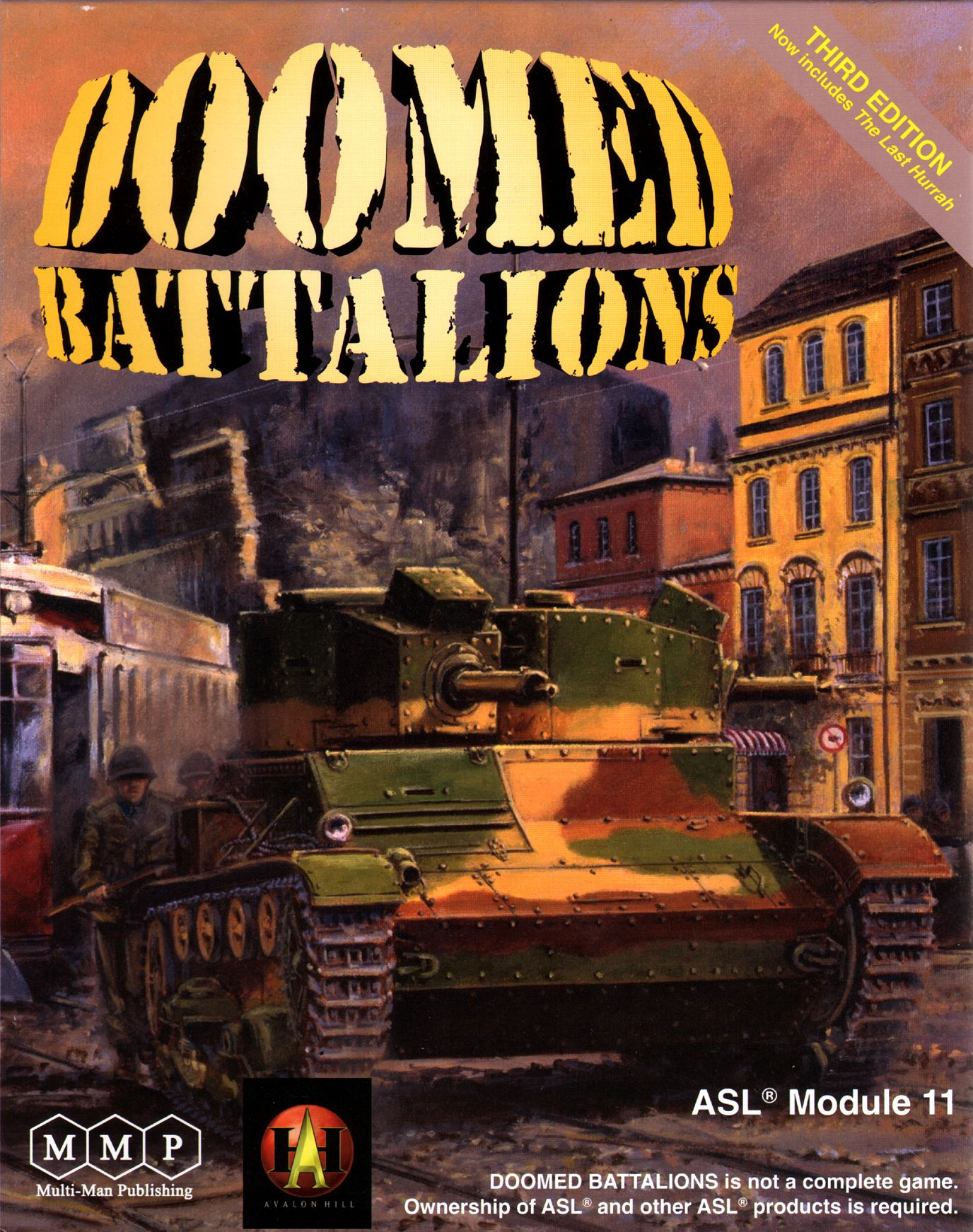 Doomed Battalions: ASL Module 11