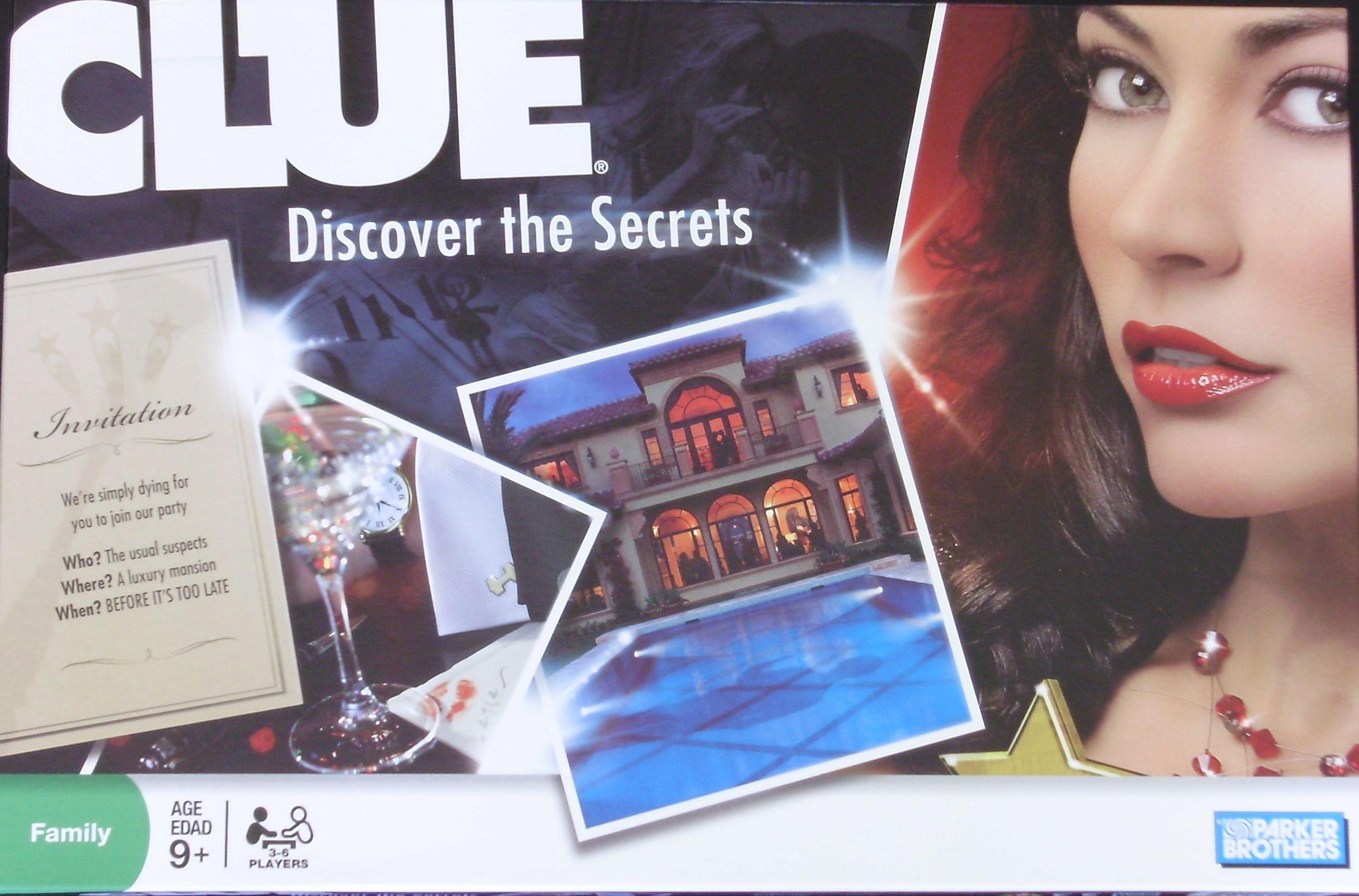 Cluedo Rejtély a Luxusvillában