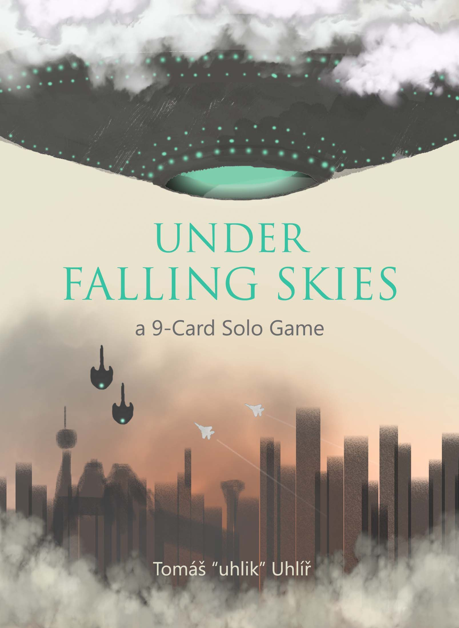 Under Falling Skies: A 9-Card Print-and-Play Game