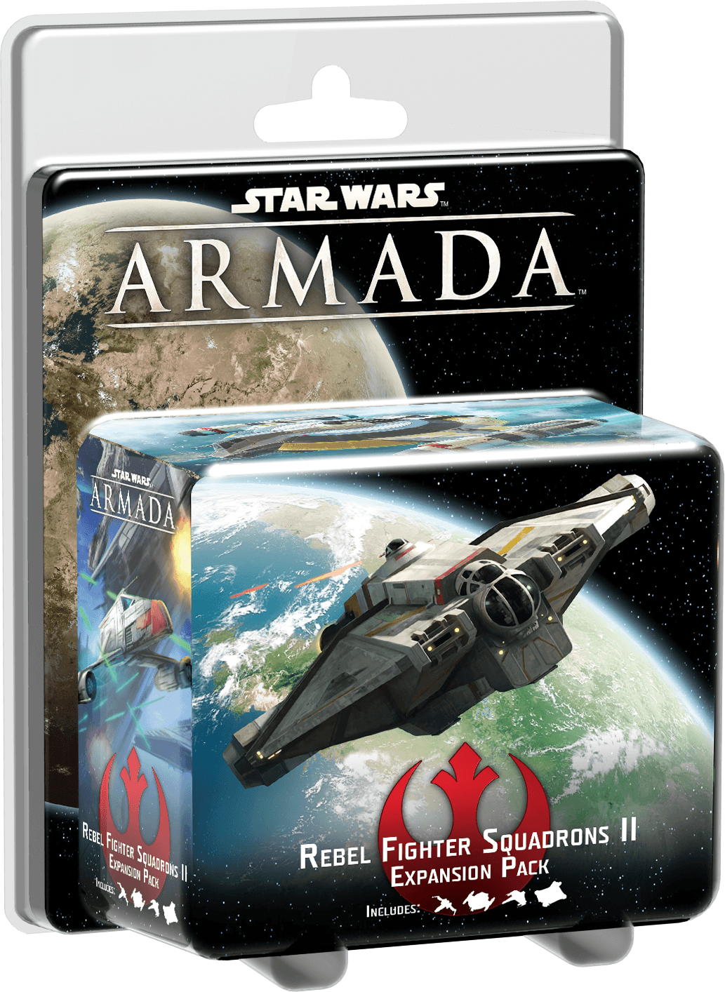 Star Wars: Armada – Escuadrones de Cazas Rebeldes II Pack de Expansion