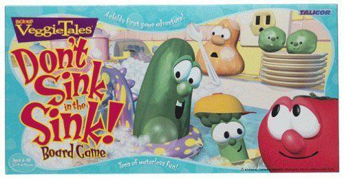 VeggieTales Don't Sink in the Sink!
