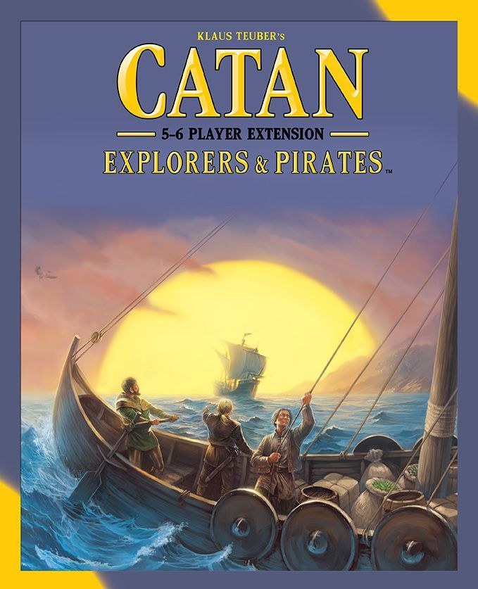 Catan: Explorers & Pirates – 5-6 Player Extension Cover