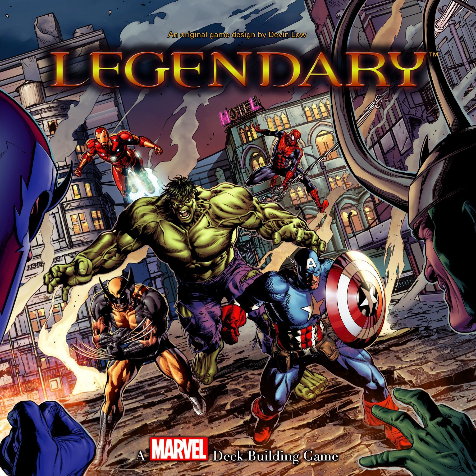Main image for Legendary: A Marvel Deck Building Game