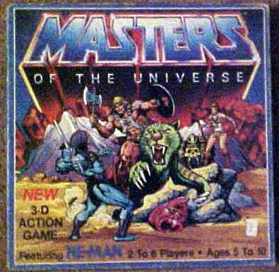 Masters of the Universe 3-D Action Game