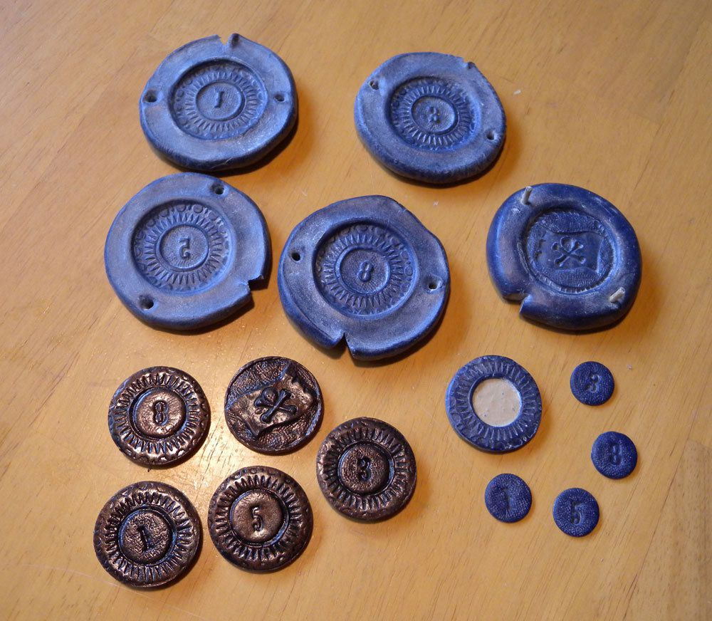 Clay Coin Mold – Jerusalem House