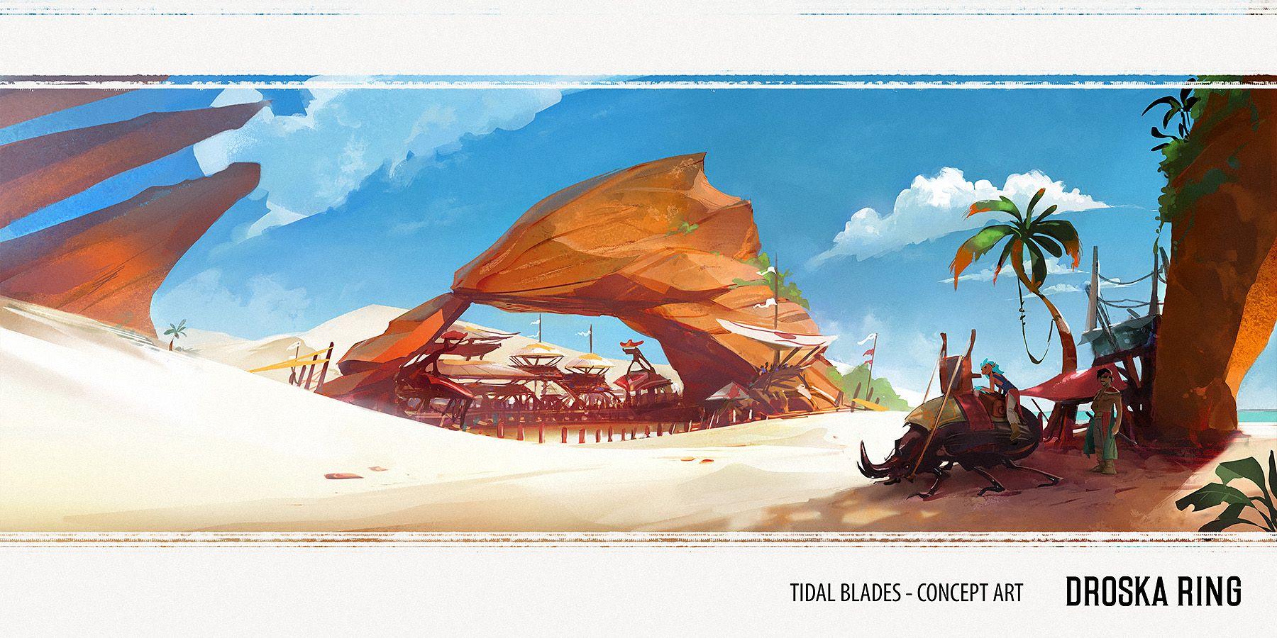 Tidal Blades: Heroes of the Reef - Artist Diary #3 - Dust | Tidal