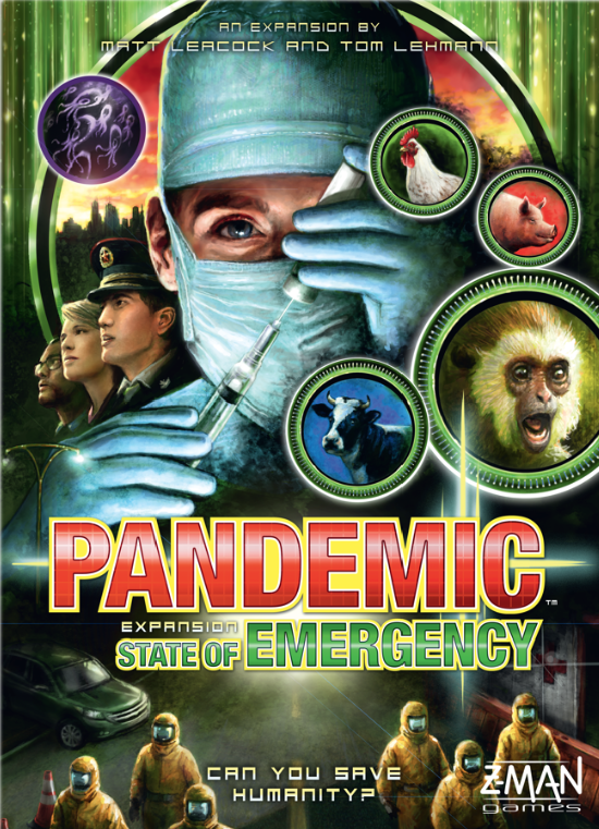 Pandemic: State of Emergency Cover