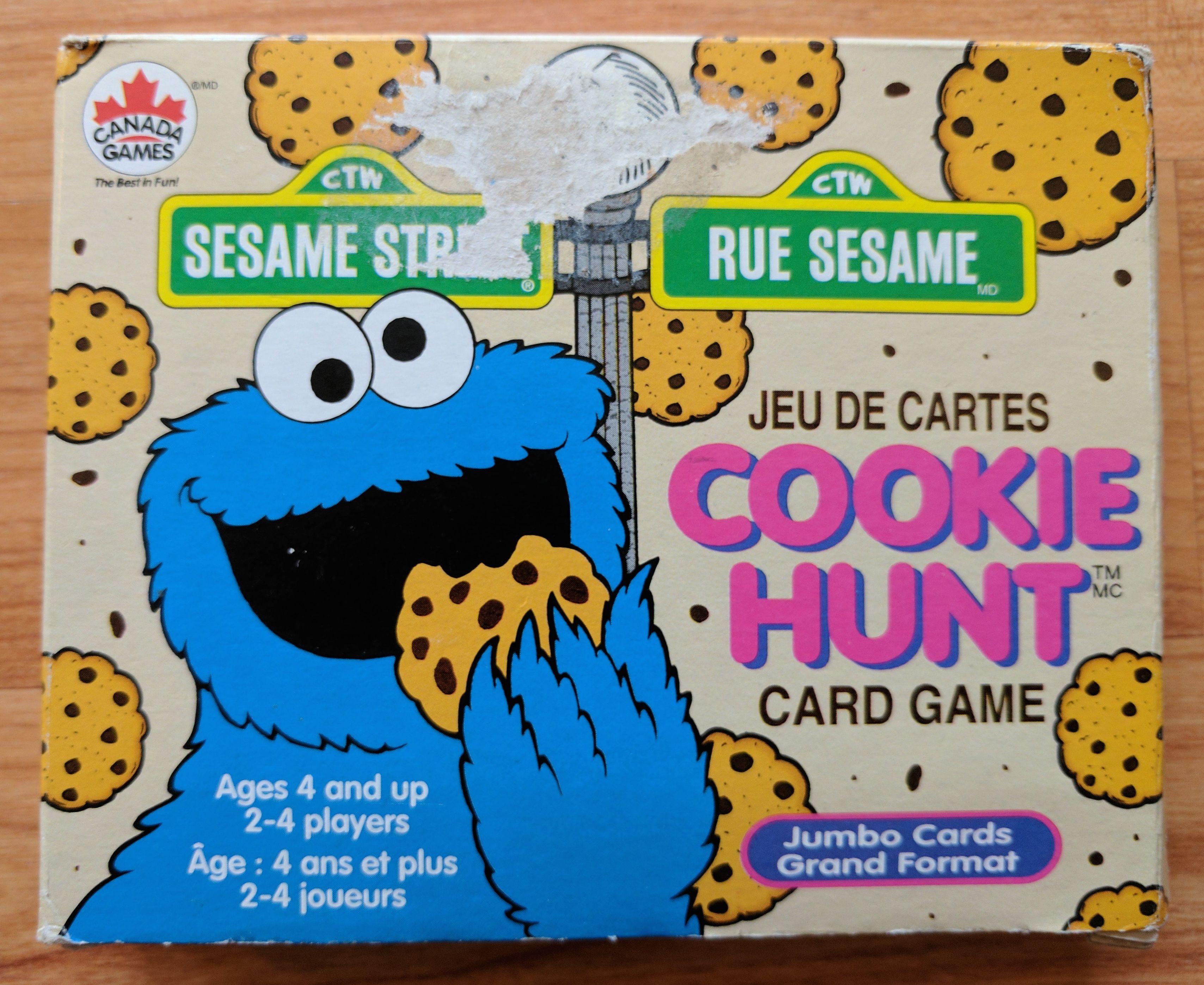 Sesame Street Cookie Hunt