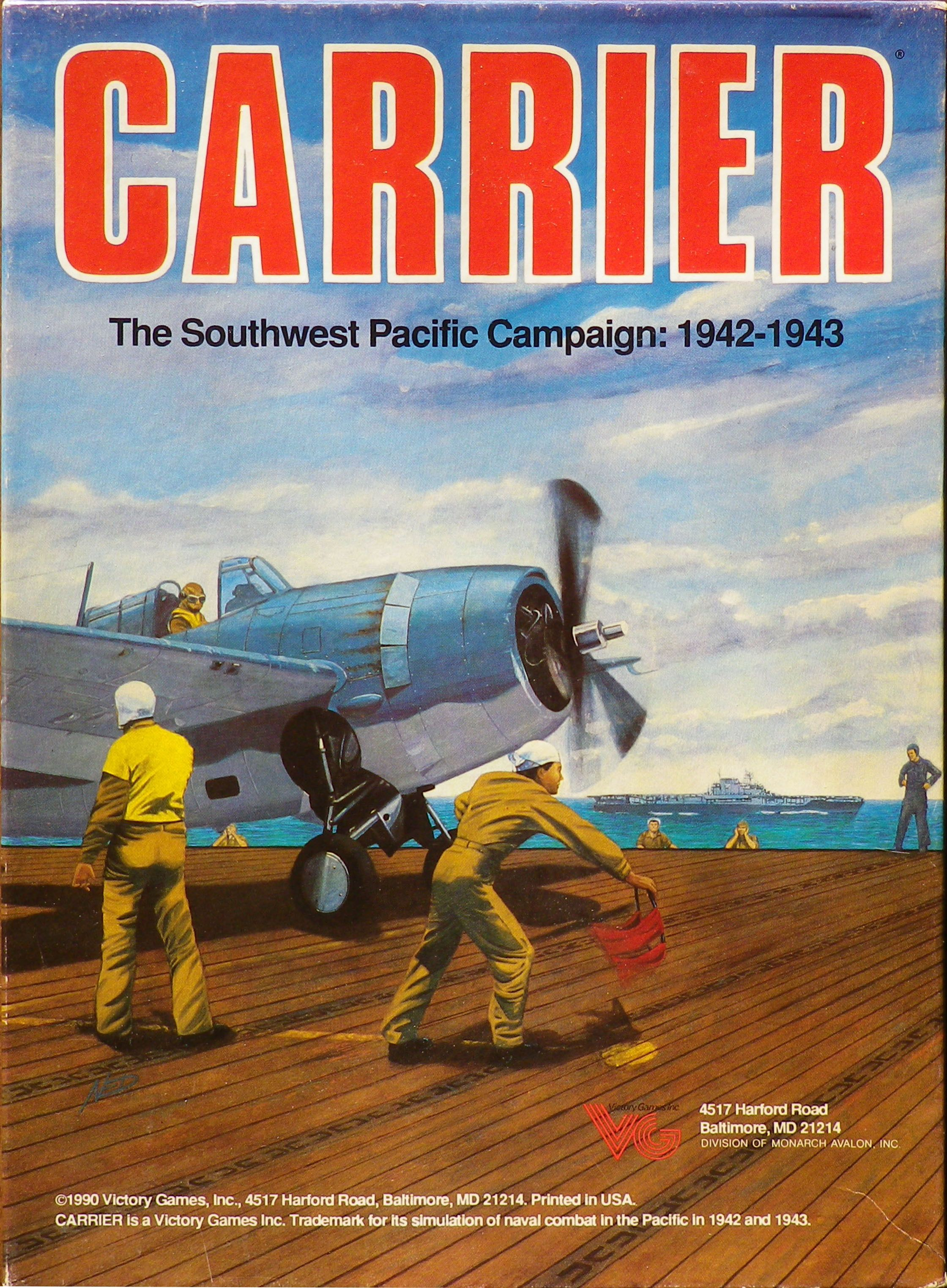 Carrier: The Southwest Pacific Campaign – 1942-1943