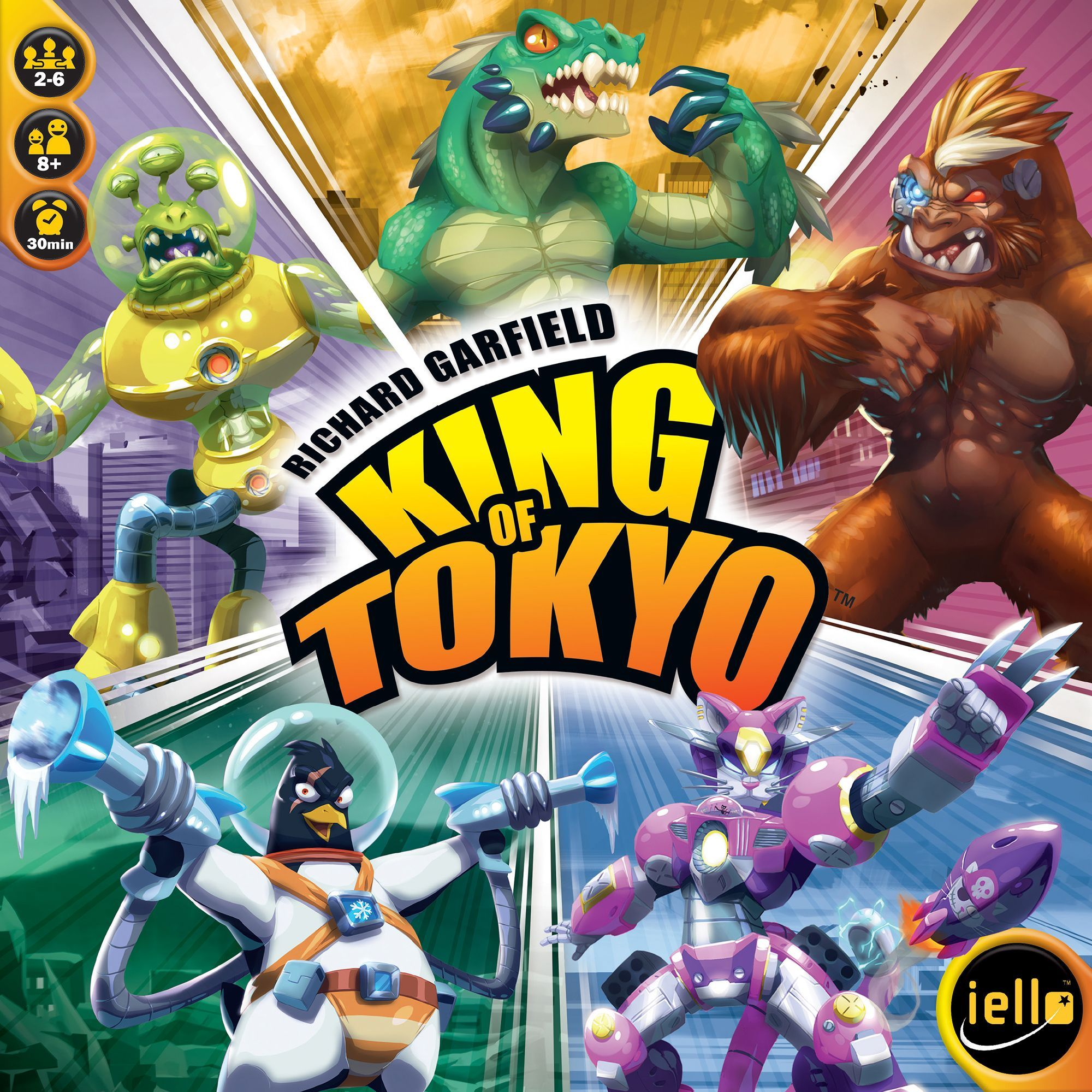 Main image for King of Tokyo board game