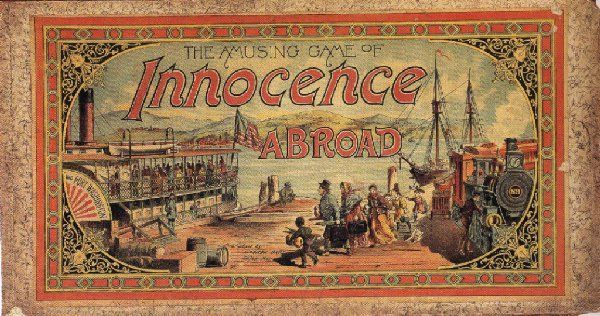 The Amusing Game of Innocence Abroad
