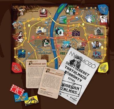 Board Game: Nyomozó Budapesten