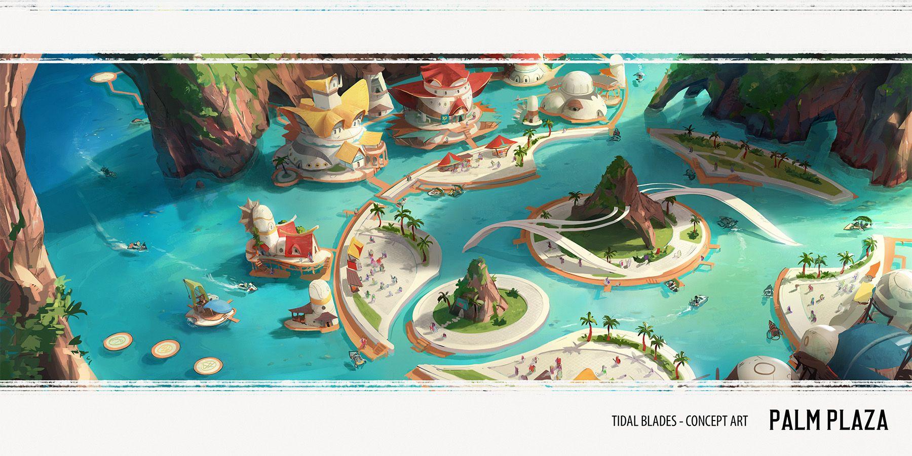 Tidal Blades: Heroes of the Reef - Artist Diary #1 | Tidal Blades