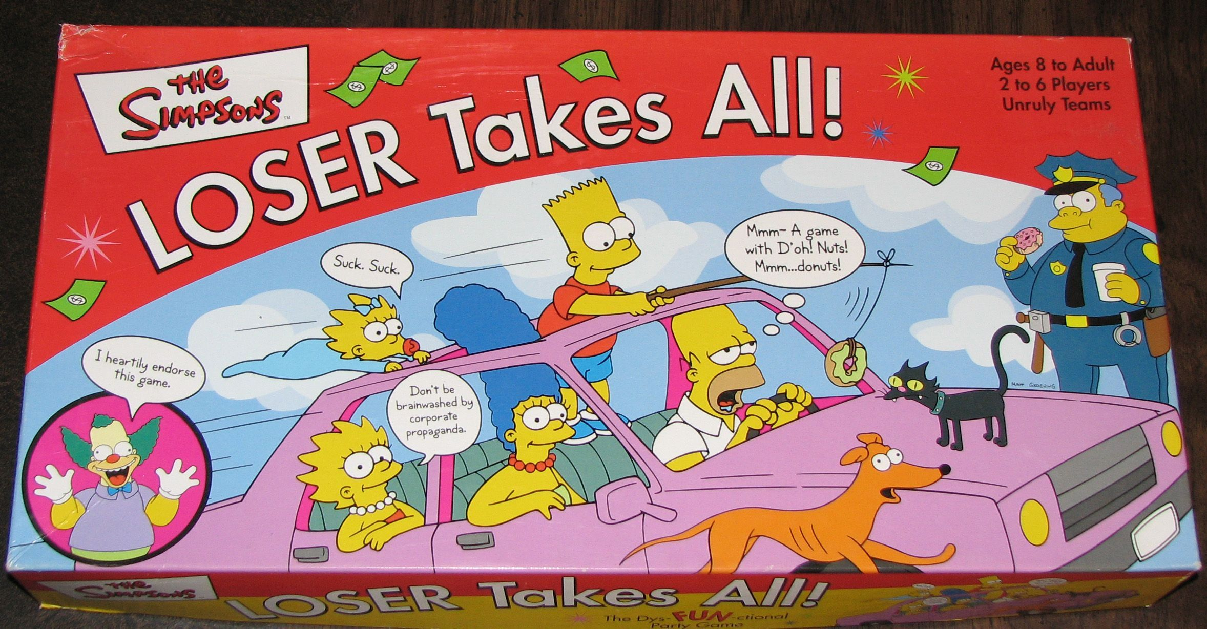 The Simpsons: LOSER Takes All!