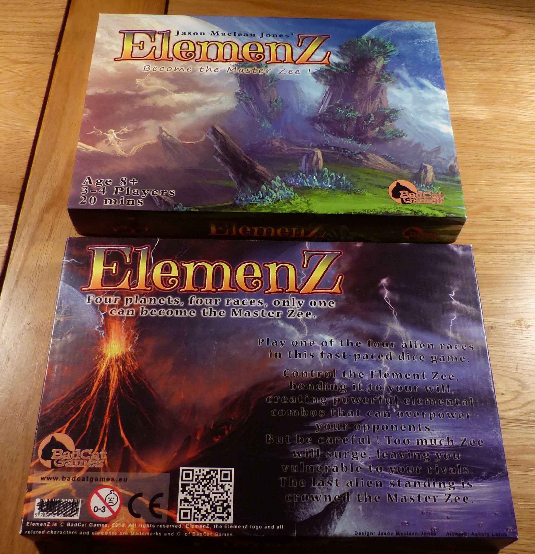 Elemenz : Aliens, Shamans, Dice & Zee | ElemenZ | BoardGameGeek