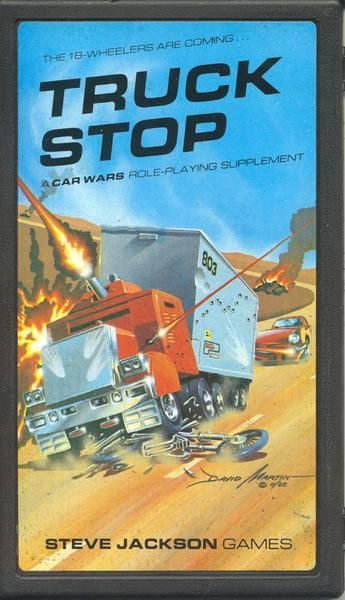 Truck Stop, A Car Wars Supplement