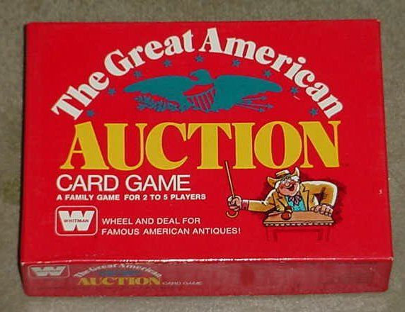 The Great American Auction Card Game
