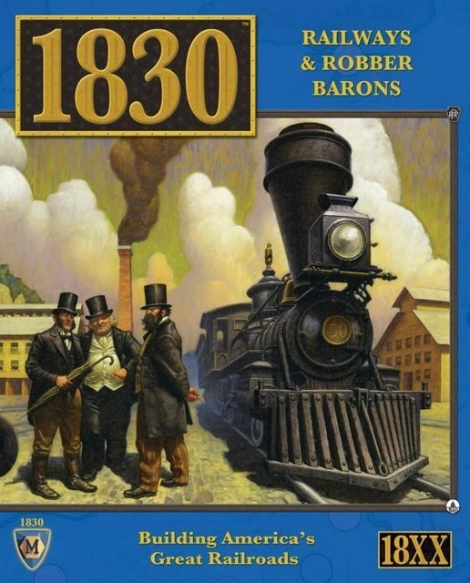 Main image for 1830: Railways & Robber Barons board game