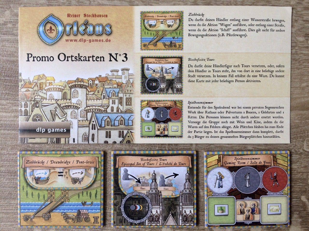Orléans: Promo Ortskarten N°3