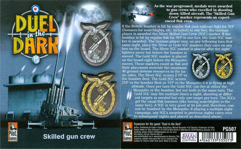 Duel in the Dark: Skilled Gun Crew