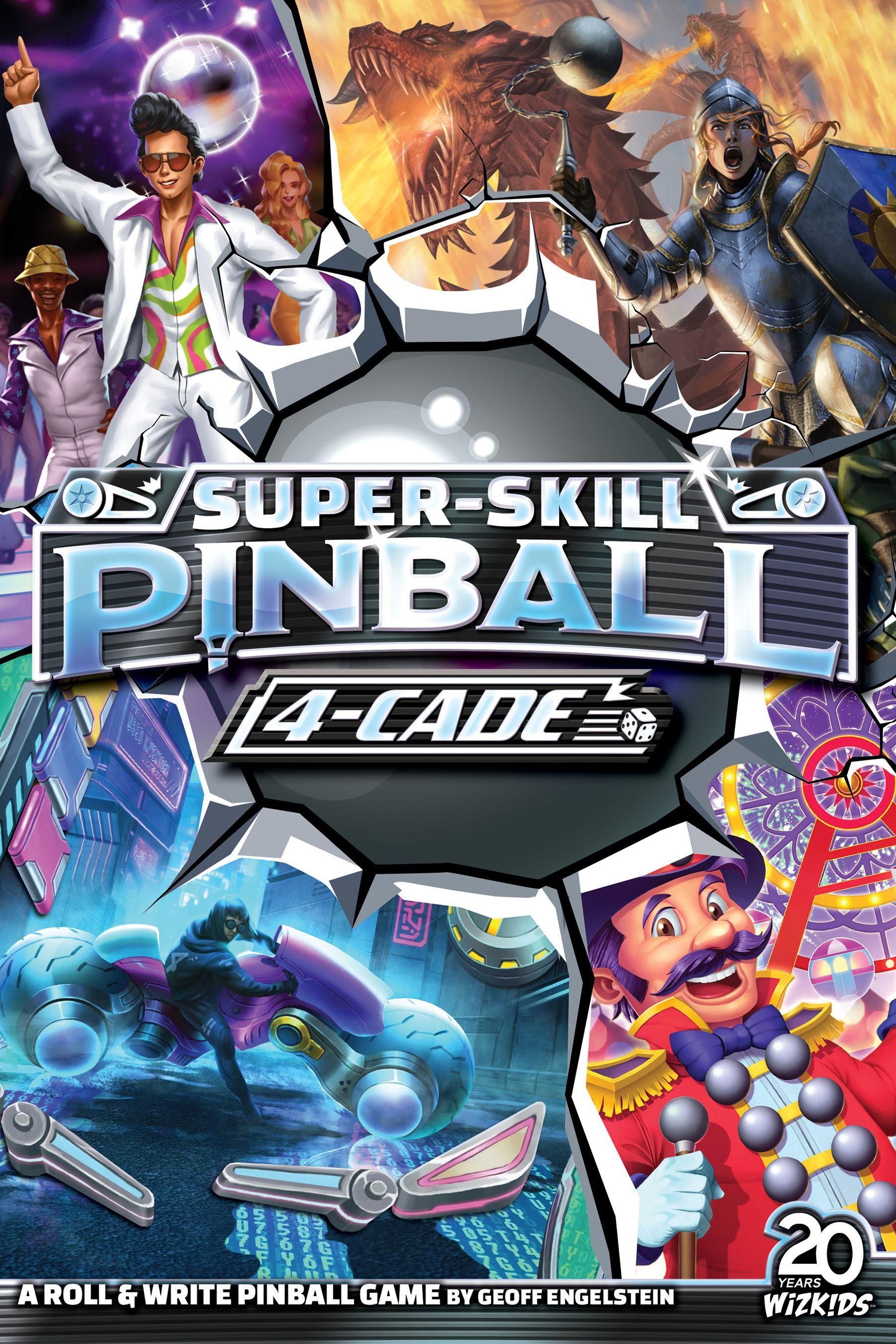 Super-Skill Pinball: 4-Cade