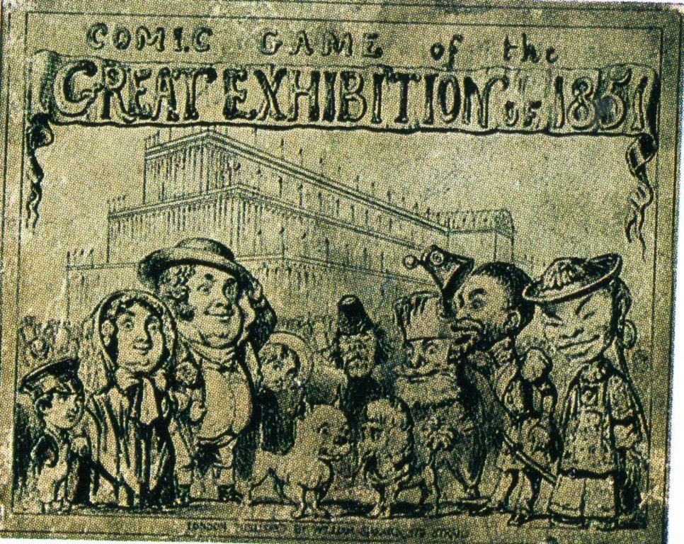 The Comic Game of the Great Exhibition of 1851