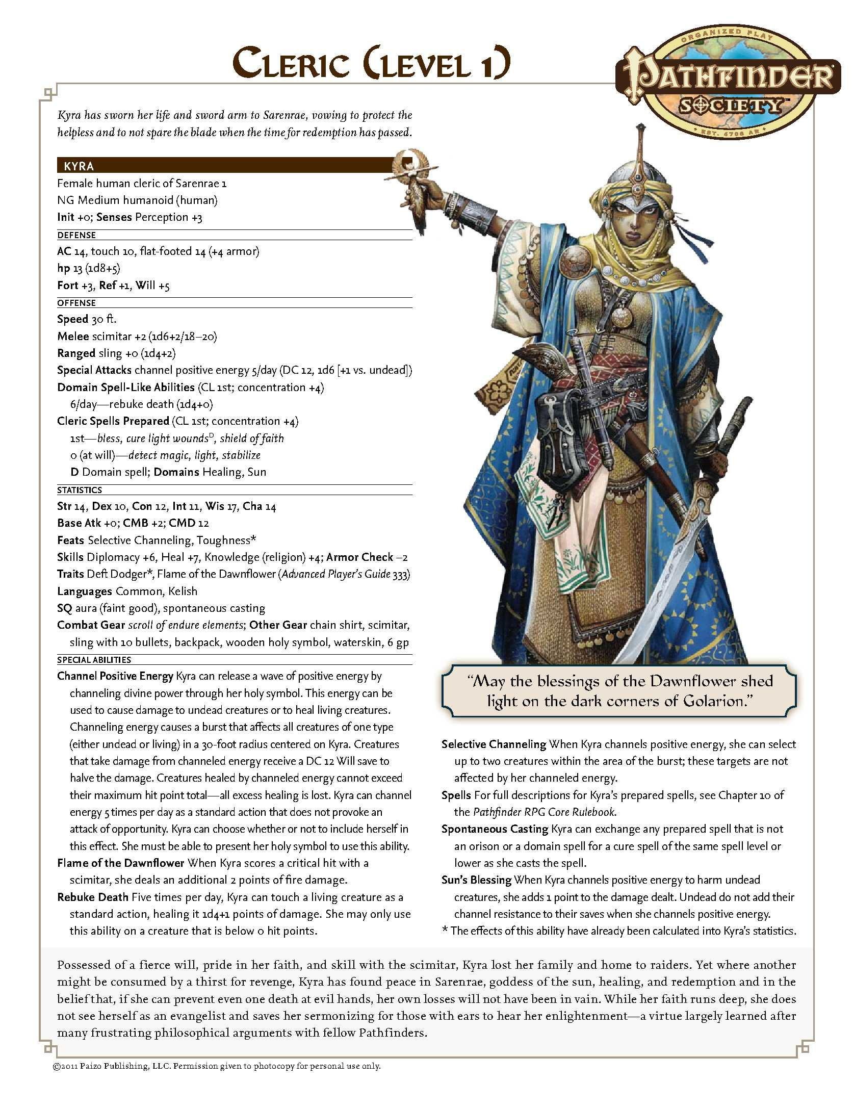 COMPLETE (OOC) Pathfinder Society - Voice in the Void | Pathfinder