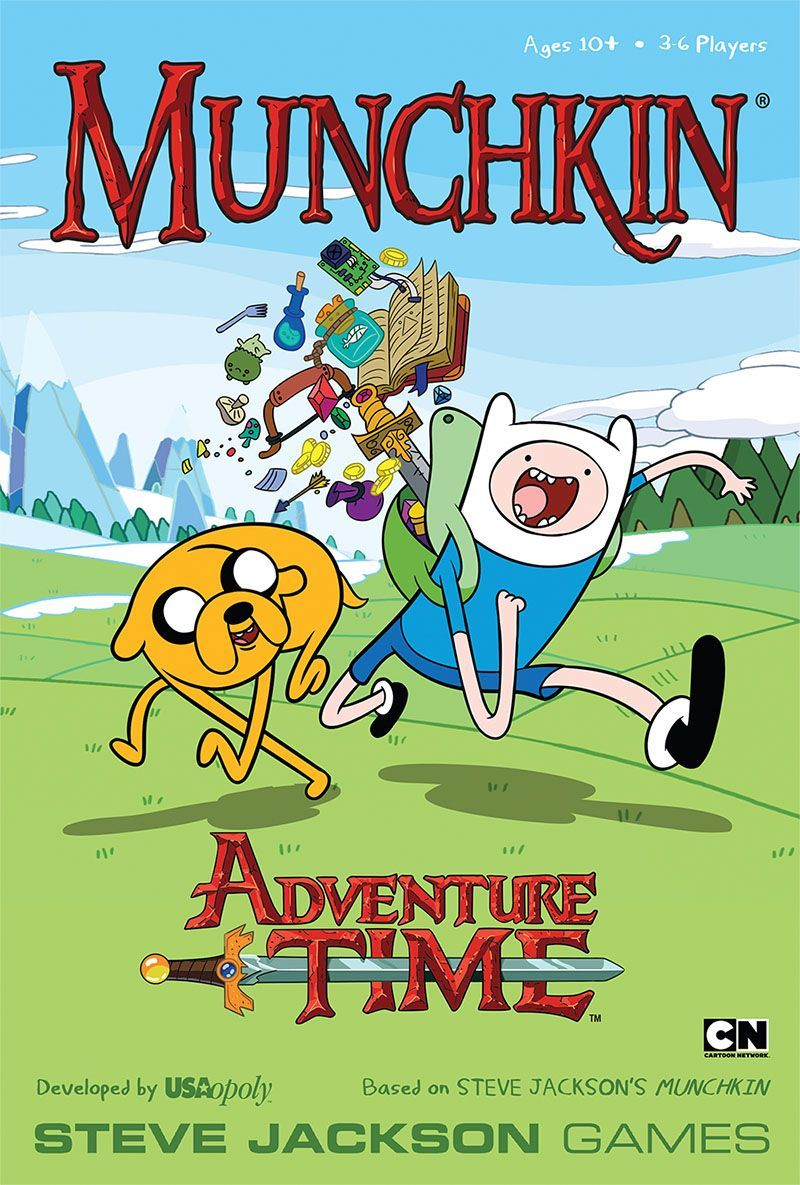 Main image for Munchkin Adventure Time