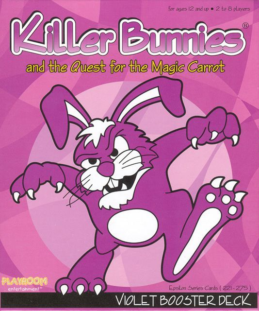 Killer Bunnies and the Quest for the Magic Carrot: VIOLET Booster