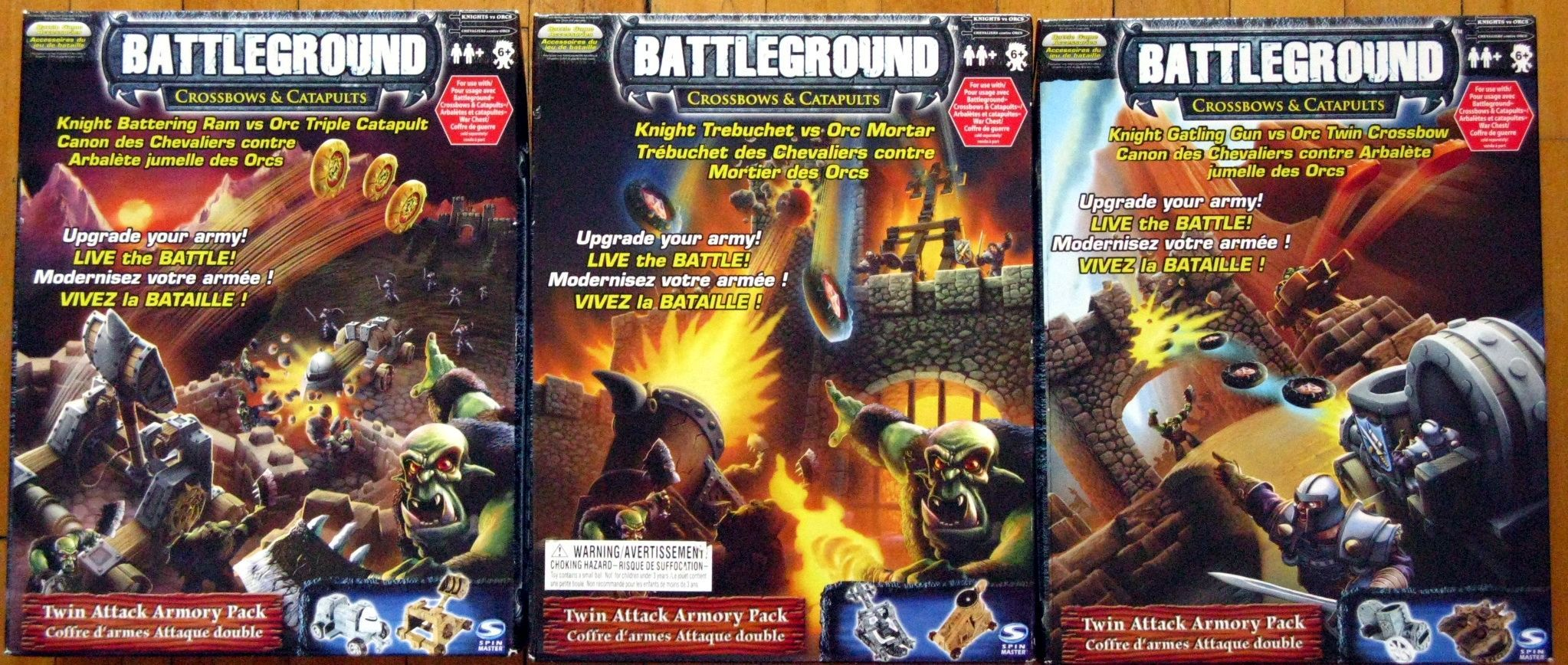 Battleground: Crossbows & Catapults Twin Attack Armory Packs