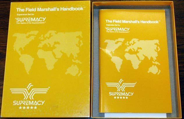 Supremacy: Field Marshall's Handbook