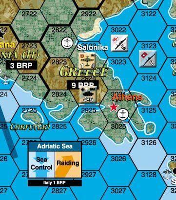 Third Reich Deluxe Map