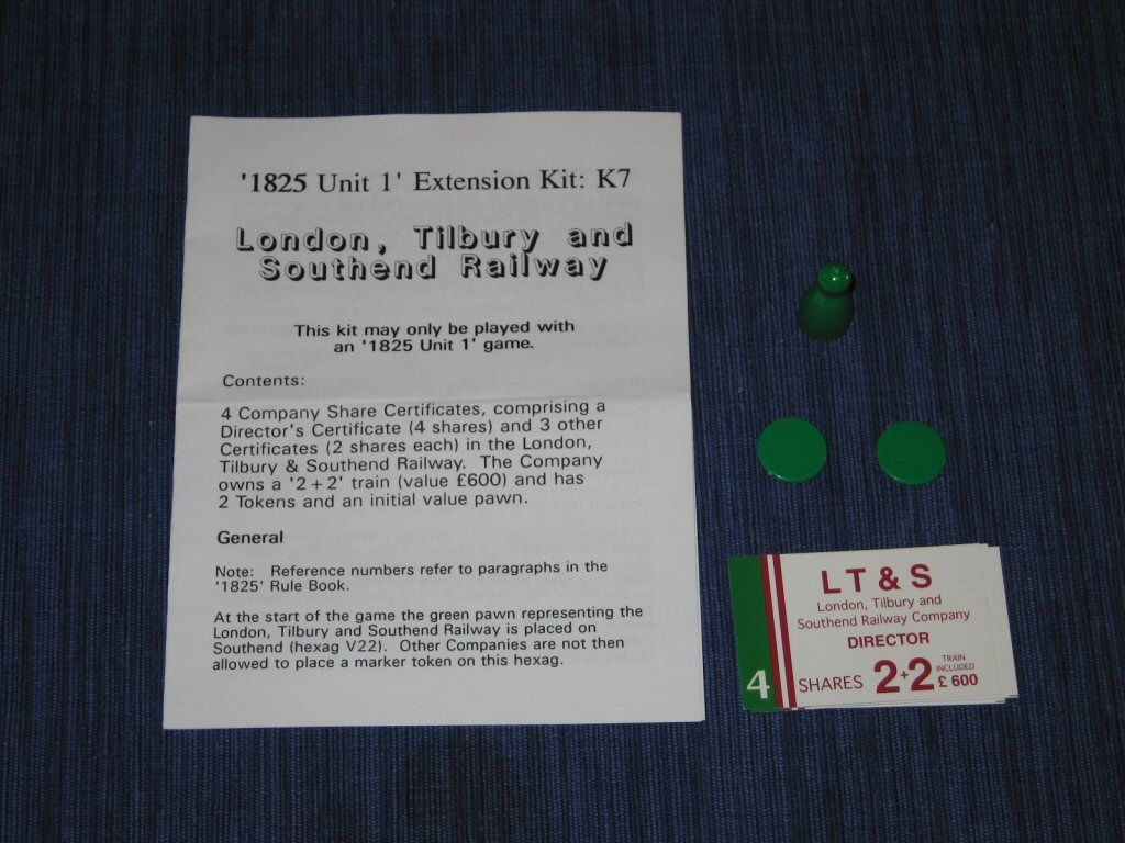 1825 Extension Kit K7: London, Tilbury and Southend Railway