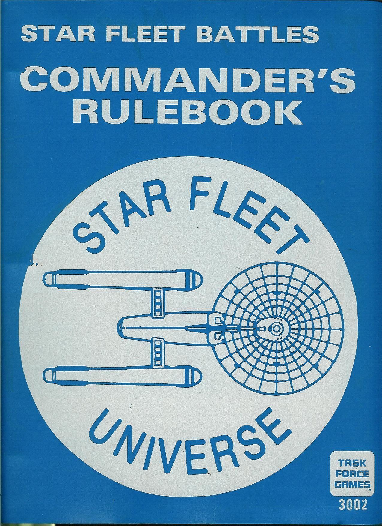 Star Fleet Battles: Commander's Rulebook