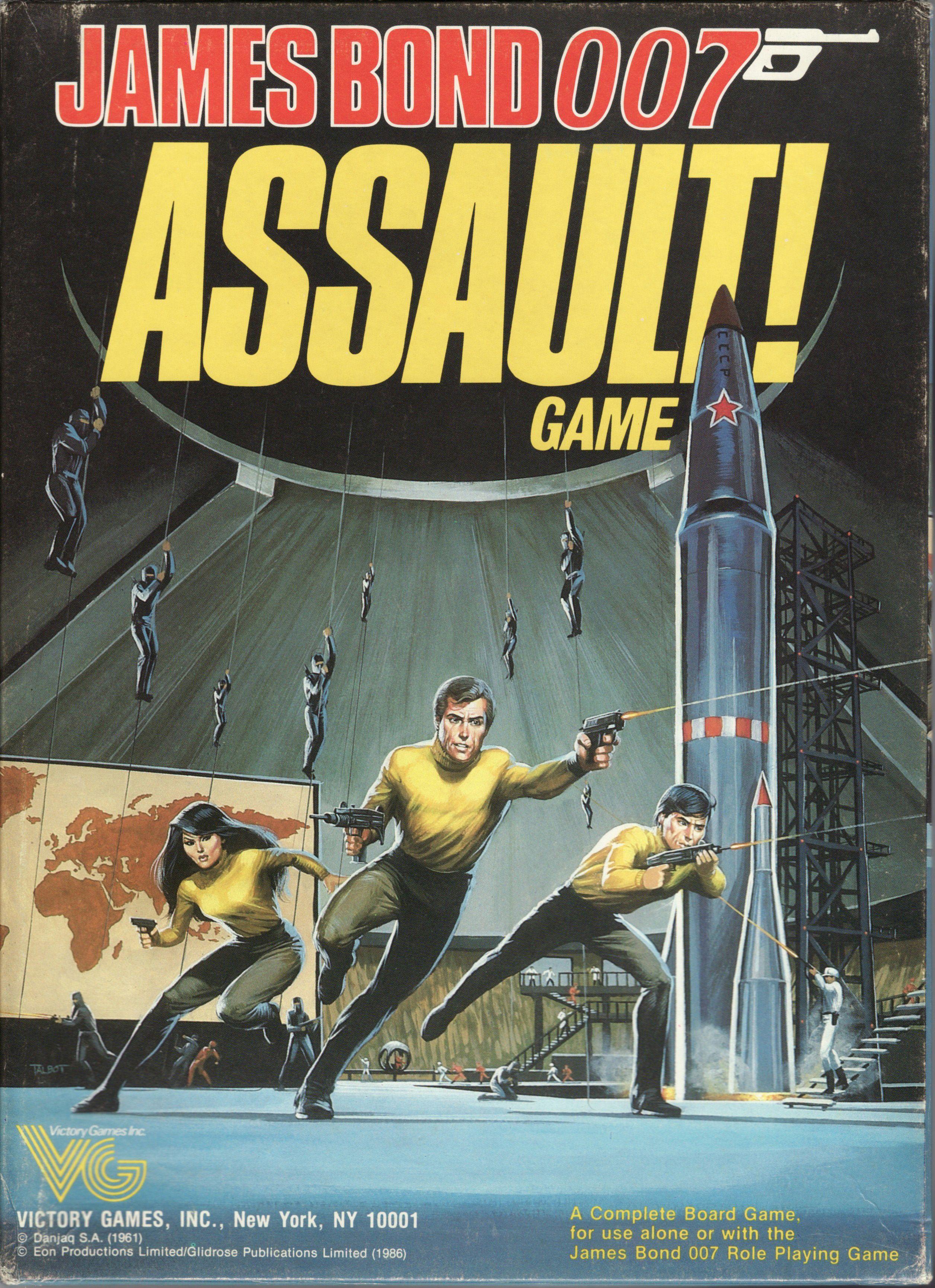 James Bond 007 Assault! Game
